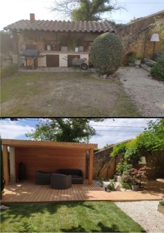 Terrasse et Pergola en Douglas